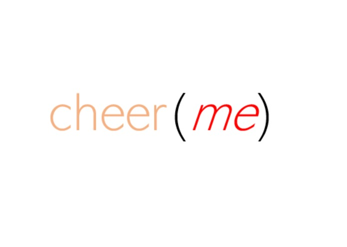 cheer(me) – screenshot 1