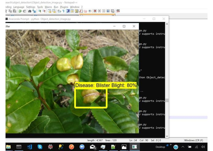 Identifying Pathological Diseases in Plants powered by TF2.0 – screenshot 7