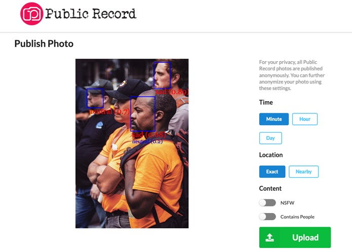 Public Record – screenshot 2