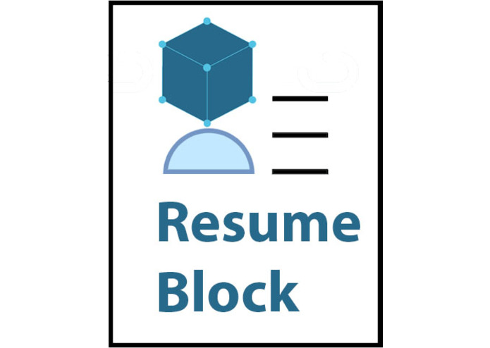 ResumeBlock – screenshot 1