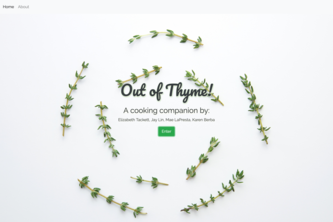 Out of Thyme!