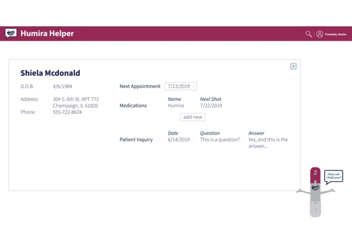 Humira Helper – screenshot 2