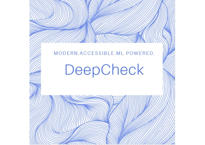 DeepCheck – screenshot 1
