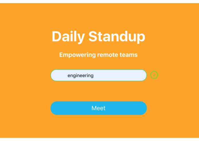 Daily Standup – screenshot 1