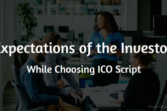 The expectations of the investors in an ICO dashboard script