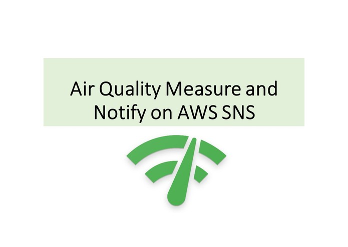UiPath Air Quality Measure and Notify on AWS SNS | Devpost
