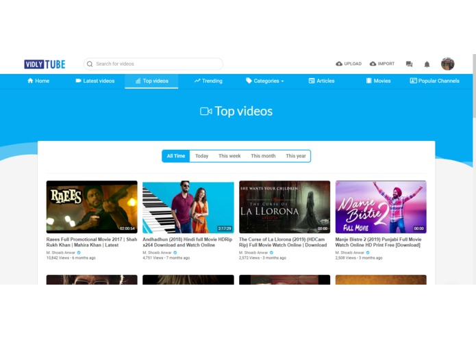 VidlyTube – screenshot 6