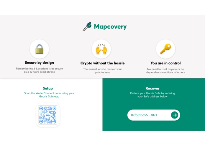 Mapcovery – screenshot 1