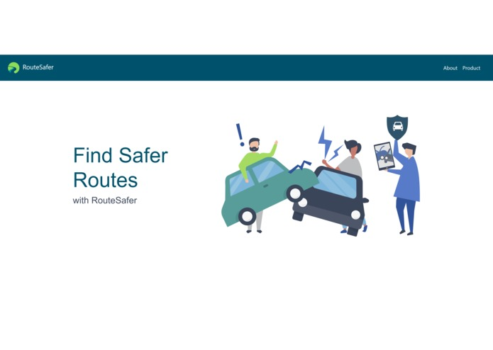 RouteSafer – screenshot 1