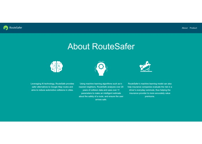 RouteSafer – screenshot 2