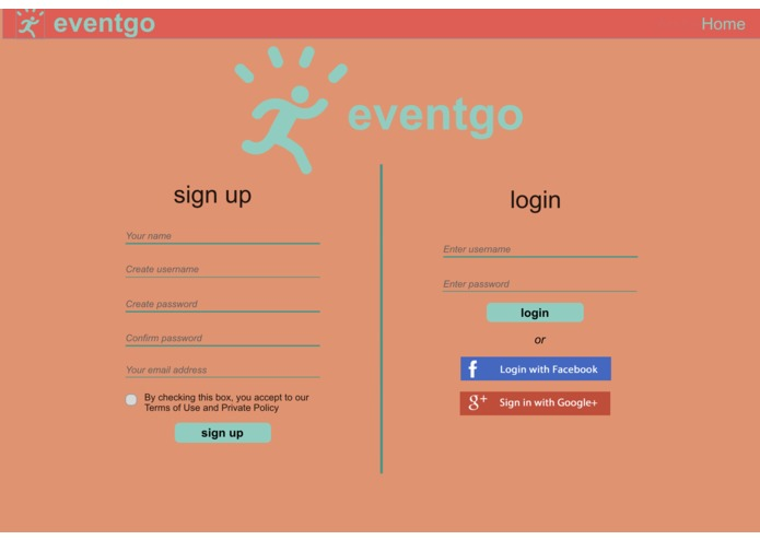 EventGo – screenshot 2