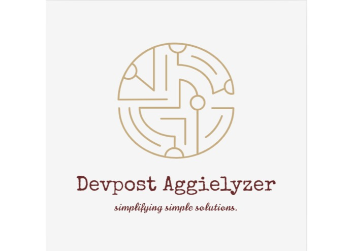Devpost Aggielyzer – screenshot 1
