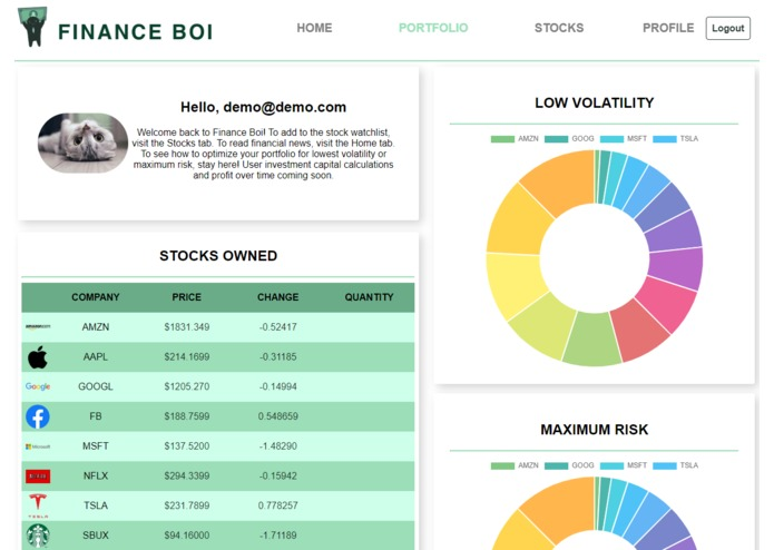 Finance Boi – screenshot 4