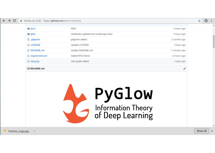 PyGlow-Python package on Information Theory of Deep Learning – screenshot 1