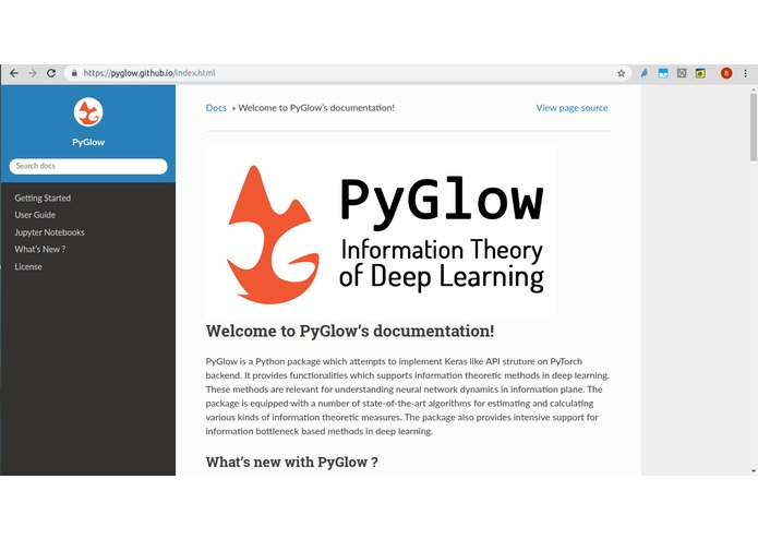PyGlow-Python package on Information Theory of Deep Learning – screenshot 2