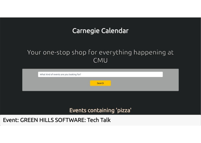 Carnegie Calendar – screenshot 1
