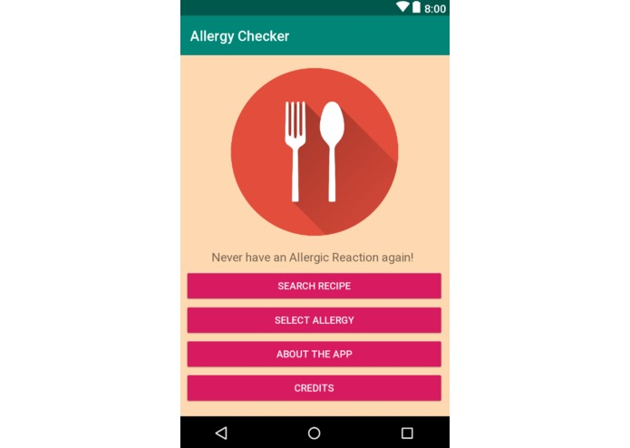 Allergy Friendly – screenshot 1