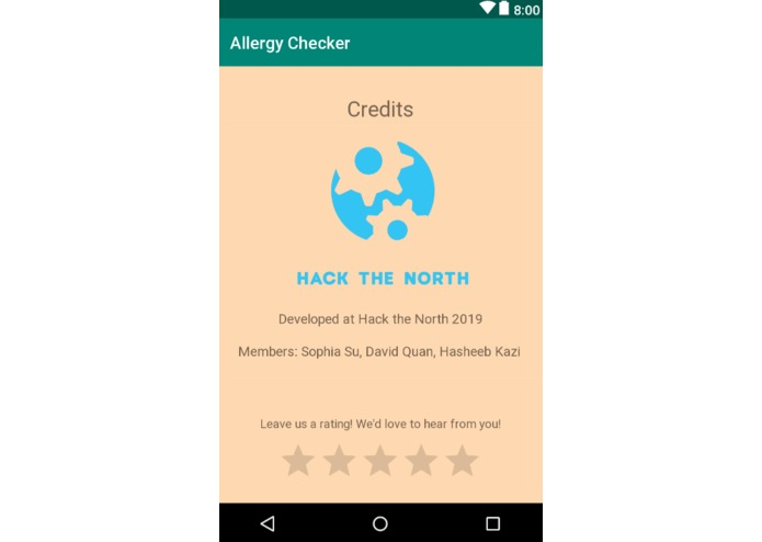 Allergy Friendly – screenshot 4