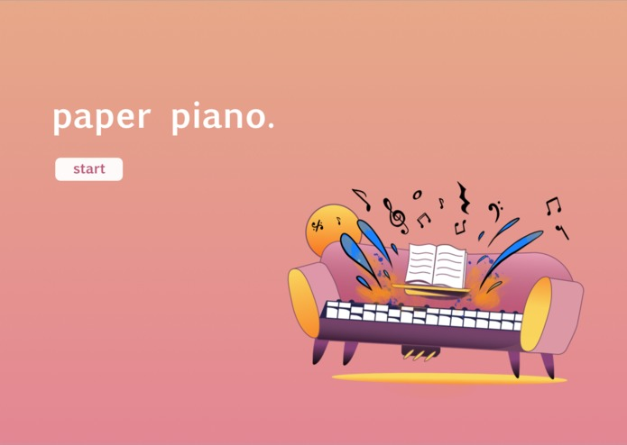 Paper Piano – screenshot 1