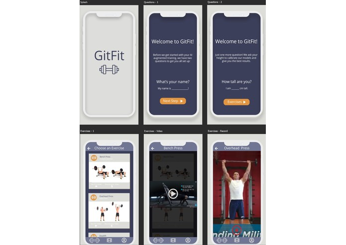 GitFit – screenshot 2