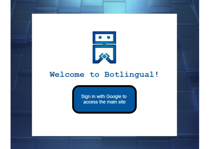 Botlingual – screenshot 1