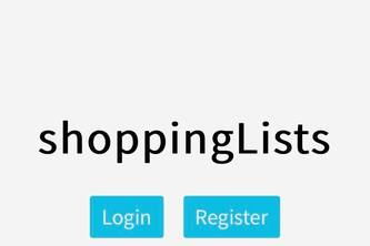 shoppingLists