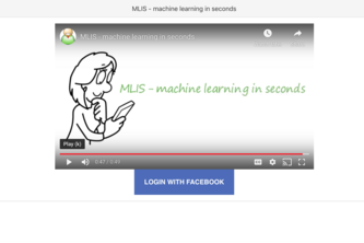 MLIS - machine learning in seconds