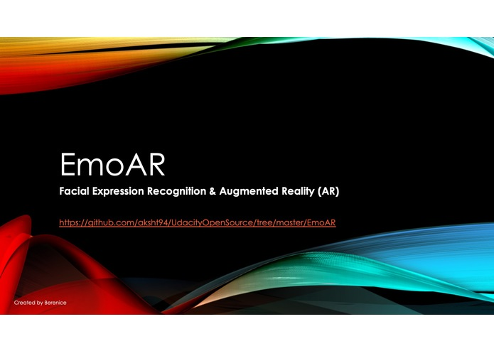 EmoAR – Facial Expression Recognition & Augmented Reality