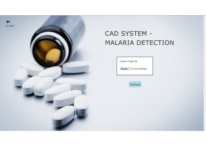 Computer Aided Diagnostic System for Malaria – screenshot 2