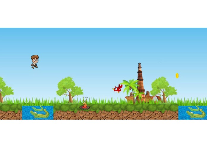 Jumping boy – screenshot 1