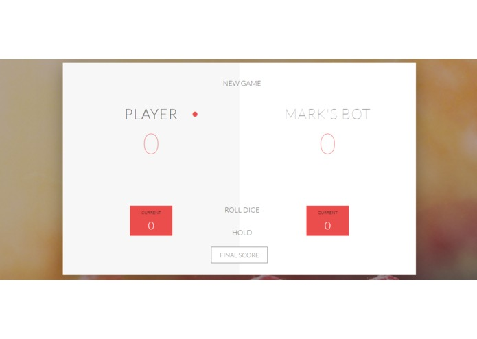 Dice-pig-Game – screenshot 1