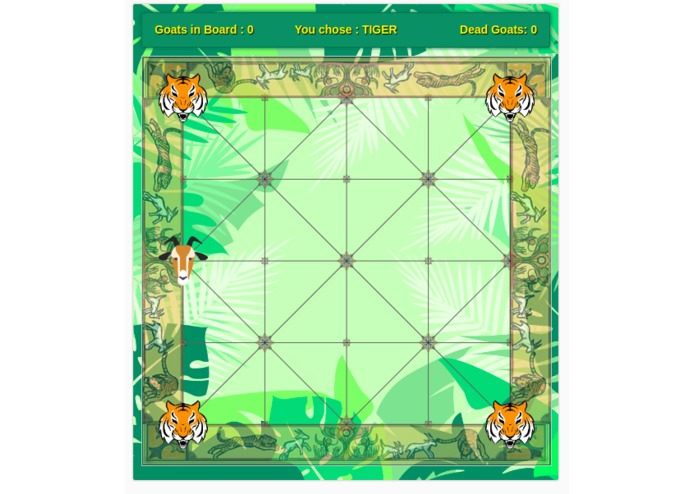 BaghChal. Nepali Board Game – screenshot 3