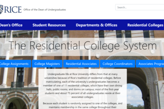 Res College Redesign