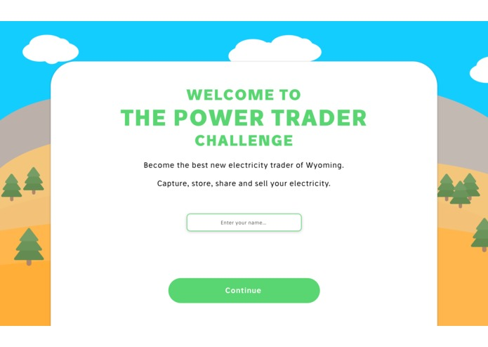 The Power Trader Challenge – screenshot 1