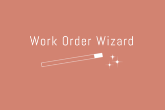 Work Order Wizard
