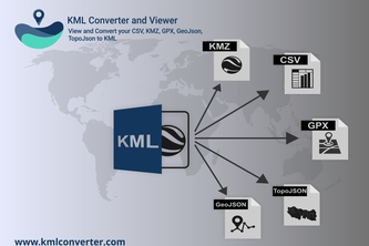 KML viewer and converter