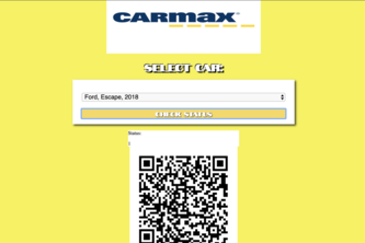CarMax Vehicle Purchase Assister