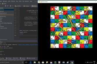 Snake and Ladders for Python learners