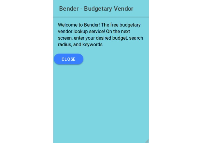 Bender - Budgetary Vendor – screenshot 7