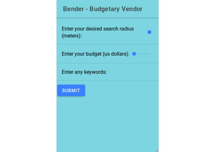Bender - Budgetary Vendor – screenshot 9
