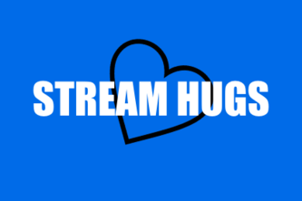 Stream Hugs - Interactive Trust + Community Building Tool