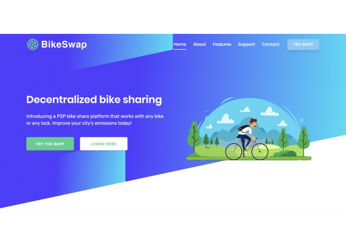 BikeSwap.io – screenshot 1
