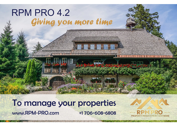 RPM PRO - Rentals Property Management Software – screenshot 3
