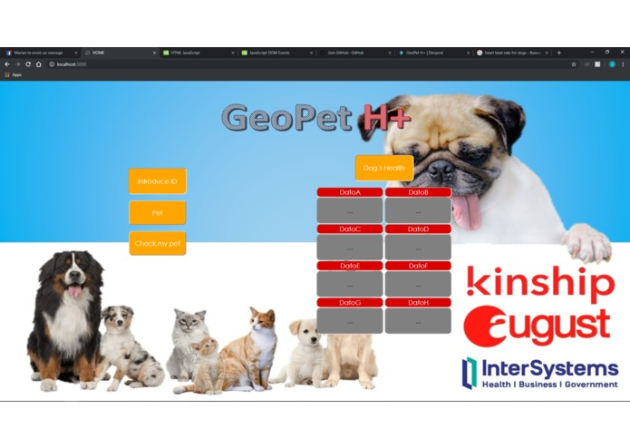 GeoPet H+ – screenshot 3