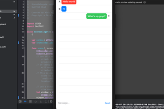 SwiftUI-Chat