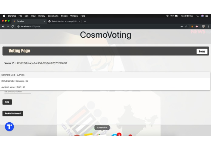 CosmoVoting – screenshot 8