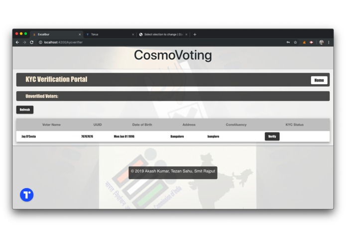 CosmoVoting – screenshot 4