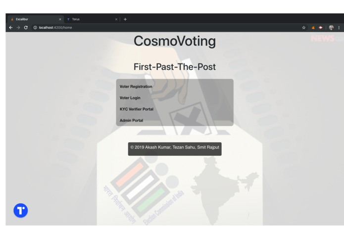 CosmoVoting – screenshot 3