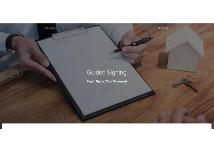 Guided Signing – screenshot 1