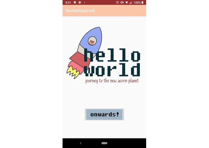 RocketSquirrel: Hello World – screenshot 1